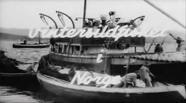 Vintersildfiske 1950